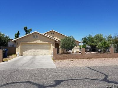 Bullhead City AZ Single Family Home For Sale: $182,000