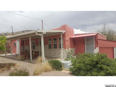Kingman Single Family Home For Sale: 119 Walnut St