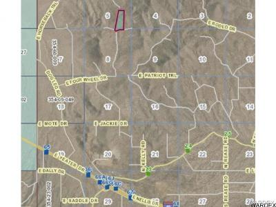 Kingman Residential Lots & Land For Sale: 0000 E Elliot Ridge Road