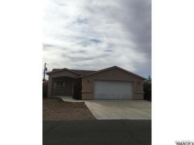 Bullhead AZ Single Family Home For Sale: $149,900