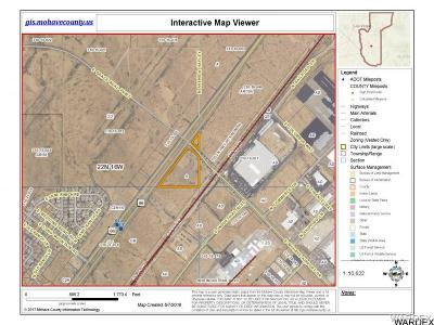 Kingman Residential Lots & Land For Sale: Tbd E Mohave Airport Drive