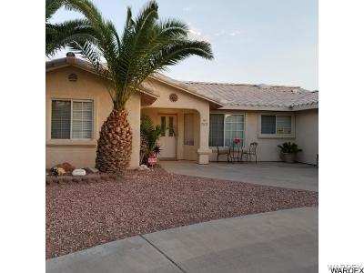 Mohave Valley Single Family Home For Sale: 512 E Kingsley Street