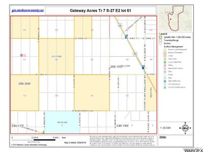 Mohave County Residential Lots & Land For Sale: E2 Lot61 Kanyr