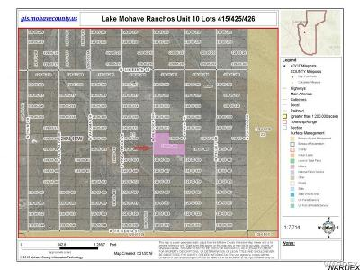 Mohave County Residential Lots & Land For Sale: Lot 415 N Peacock