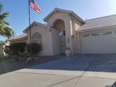 Fort Mohave Single Family Home For Sale: 1957 E Club House Plaza