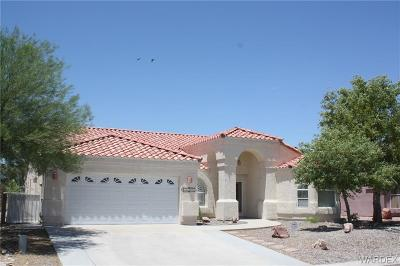 Fort Mohave Single Family Home For Sale: 5973 Mountain View