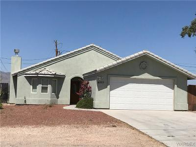 Fort Mohave Single Family Home For Sale: 4501 Calle Del Media