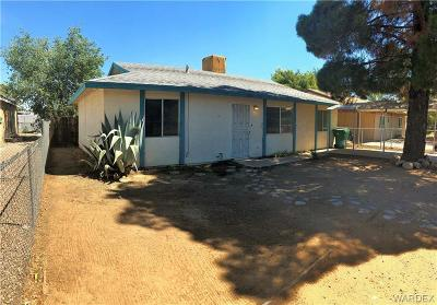 Kingman AZ Single Family Home For Sale: $74,900