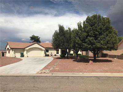 Kingman Single Family Home For Sale: 1600 Rawhide Drive