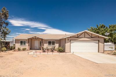 Kingman AZ Single Family Home For Sale: $134,900