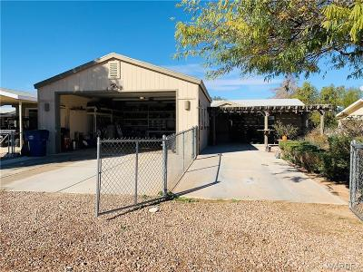 Mohave County Manufactured Home For Sale: 1067 E Acacia Drive