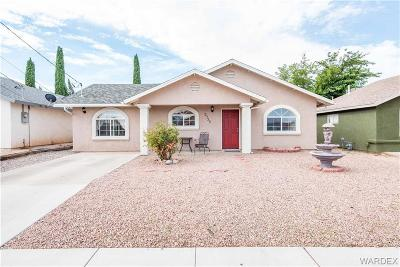Kingman AZ Single Family Home For Sale: $149,900