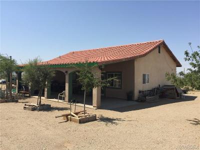 Dolan Springs Single Family Home For Sale: 15677 N Elmwood Drive