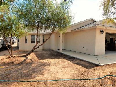 Topock/golden Shores Single Family Home For Sale: 12842 S Pima Parkway