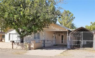 Mohave Valley AZ Single Family Home For Sale: $158,000