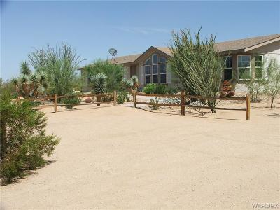 Mohave County Manufactured Home For Sale: 14418 S Dateland