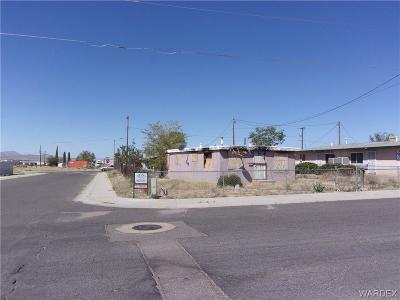 Kingman AZ Single Family Home For Sale: $22,000
