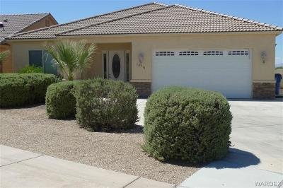 Mohave Valley Single Family Home Contingency: 10711 Blue Water Bay
