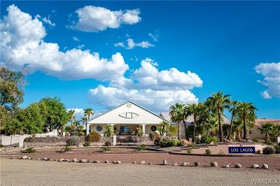 Mohave County Single Family Home For Sale: 2021 E Via Del Aqua Drive
