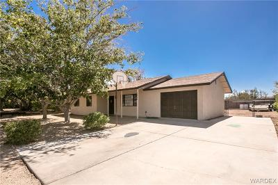 Kingman AZ Single Family Home For Sale: $114,900