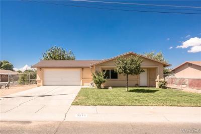 Kingman AZ Single Family Home For Sale: $154,900