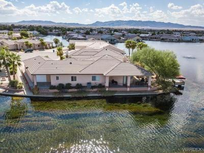 Mohave County Single Family Home For Sale: 10714 S Blue Water Bay