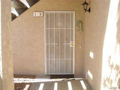 Bullhead Condo/Townhouse For Sale: 1280 Mohave #15 Drive
