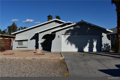 Bullhead AZ Single Family Home For Sale: $147,500