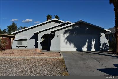 Bullhead Single Family Home For Sale: 1366 Verde Drive