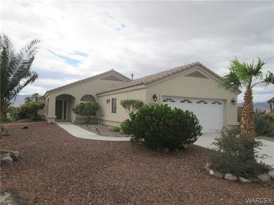 Bullhead AZ Single Family Home For Sale: $225,000