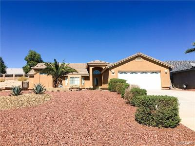 Fort Mohave Single Family Home For Sale: 2163 E Hammer Lane