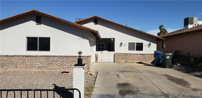 Bullhead Single Family Home For Sale: 1378 Mirada Drive
