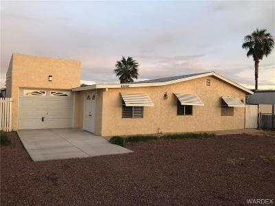 Mohave Valley AZ Single Family Home For Sale: $139,900