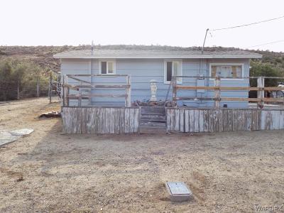 Chloride Single Family Home For Sale: 9799 N Sunrise Street