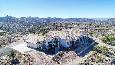 Kingman Single Family Home For Sale: 4080 E Lazy Y U Drive