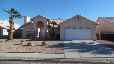 Fort Mohave Single Family Home For Sale: 1938 Clear Lake Dr