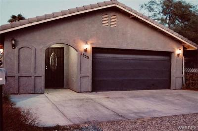Bullhead Single Family Home For Sale: 1830 Arrowhead Drive