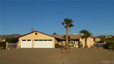 Bullhead Single Family Home For Sale: 837 La Puerta Road