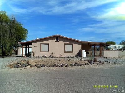 Topock/golden Shores Single Family Home For Sale: 12664 S Concho Dr