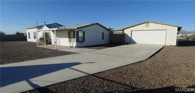 Mohave County Manufactured Home For Sale: 643 S Mormon Flat Rd. Road