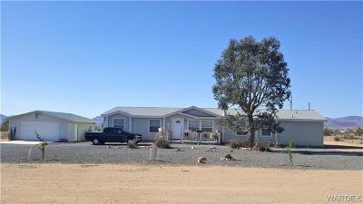 Golden Valley Manufactured Home For Sale: 4873 N Mormon Flat Road