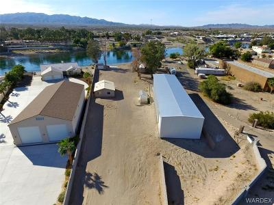 Mohave County Single Family Home For Sale: 10005 S Dike Road
