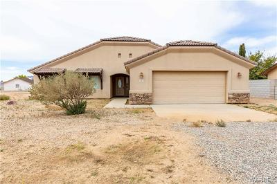 Kingman AZ Single Family Home For Sale: $195,000