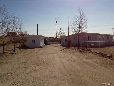 Mohave County Manufactured Home For Sale: 6014 Chloride Road