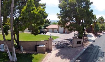 Bullhead Single Family Home For Sale: 2751 Camino Del Rio