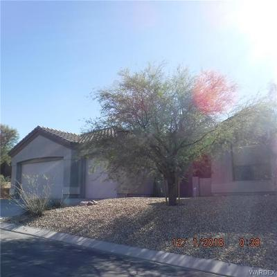 Bullhead Single Family Home For Sale: 2806 Fort Mojave Drive