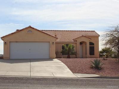 Bullhead AZ Single Family Home For Sale: $199,000