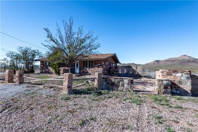 Kingman Single Family Home For Sale: 2487 W Oatman Highway