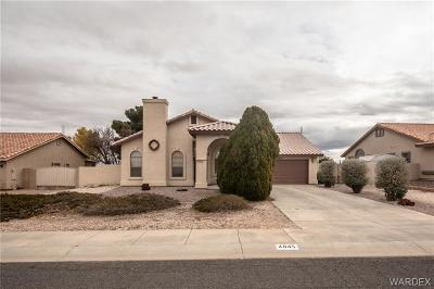Kingman AZ Single Family Home For Sale: $215,000