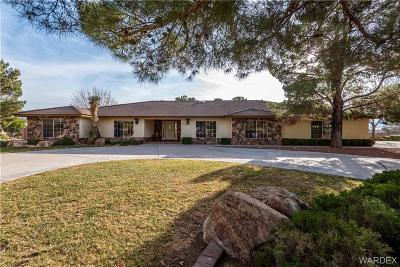Kingman Single Family Home For Sale: 1400 Quail Ridge Circle